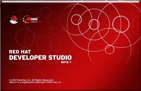 Red hat Splash Screen