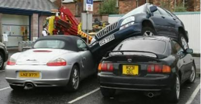 How not to park your Lexus